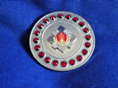 ROYAL SCOTS BROOCH / BROACH (SR)